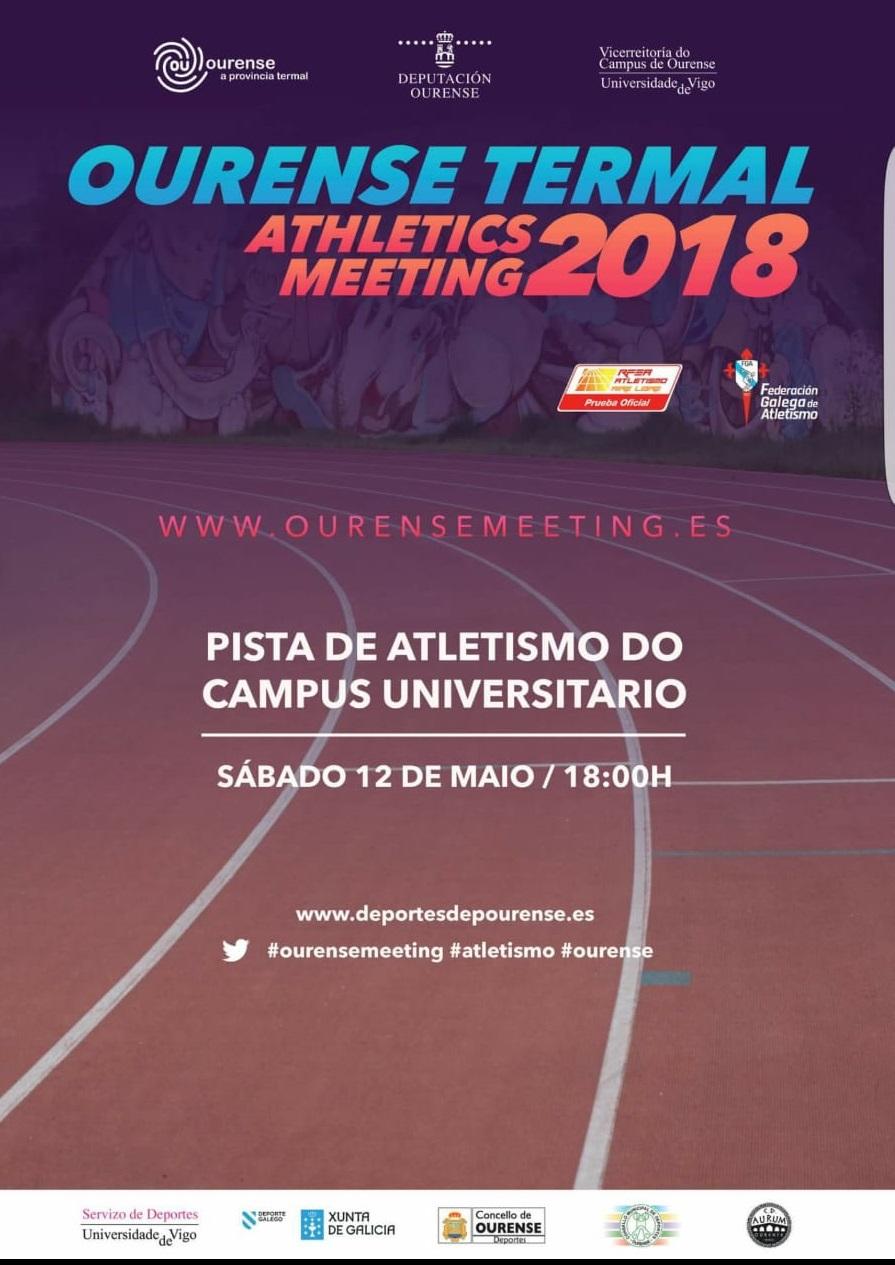 Ourense Termal Athletics Meeting 2018