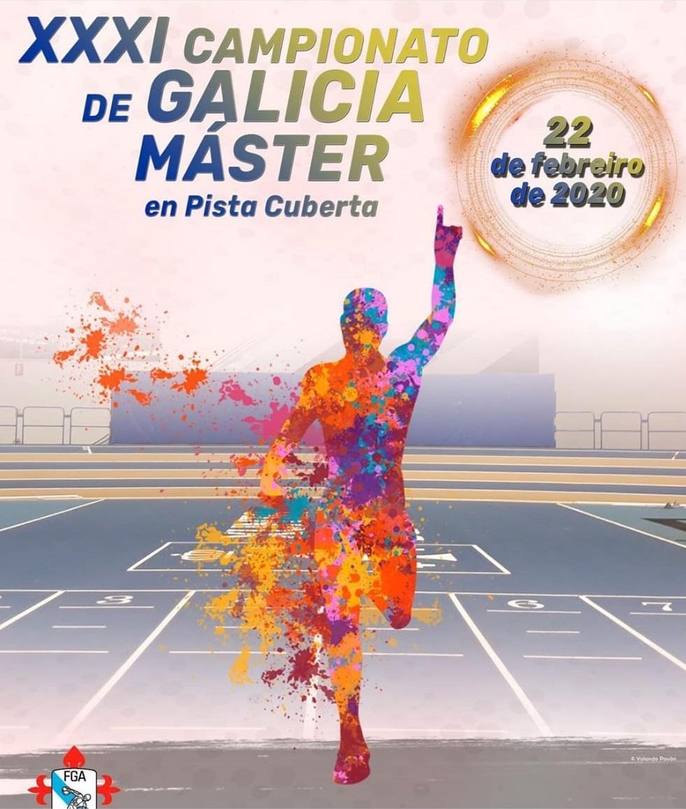 XXXI Campeonato de Galinia Master en pista cubierta