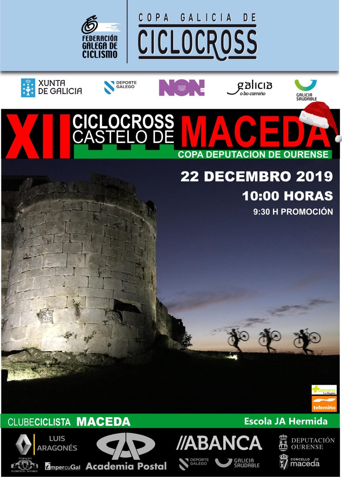 XII Ciclocross Castelo de Maceda