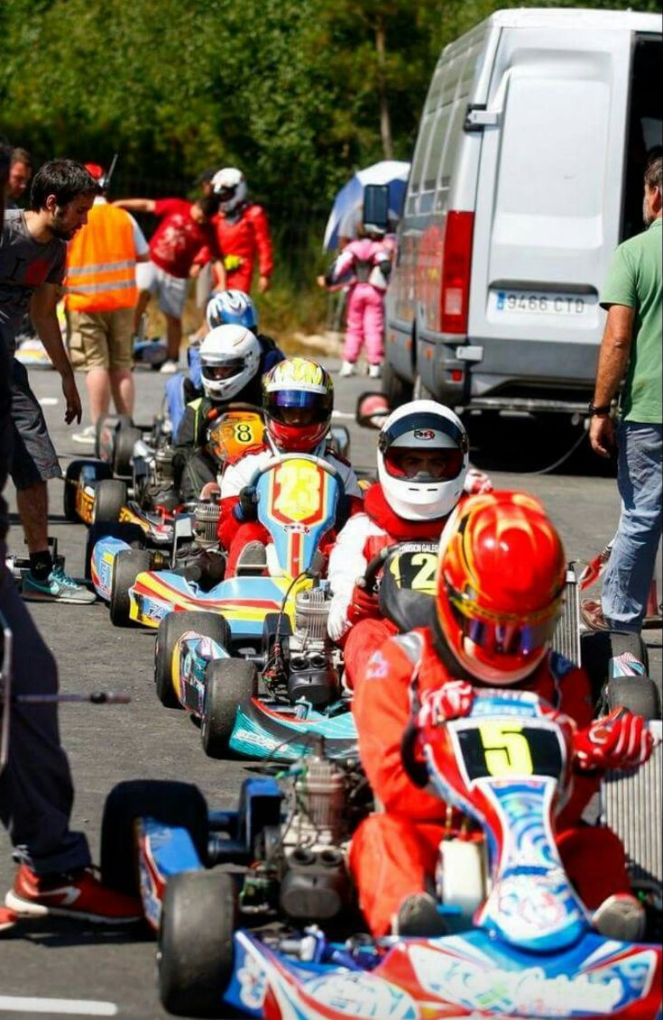 Karting Gallego en Cea