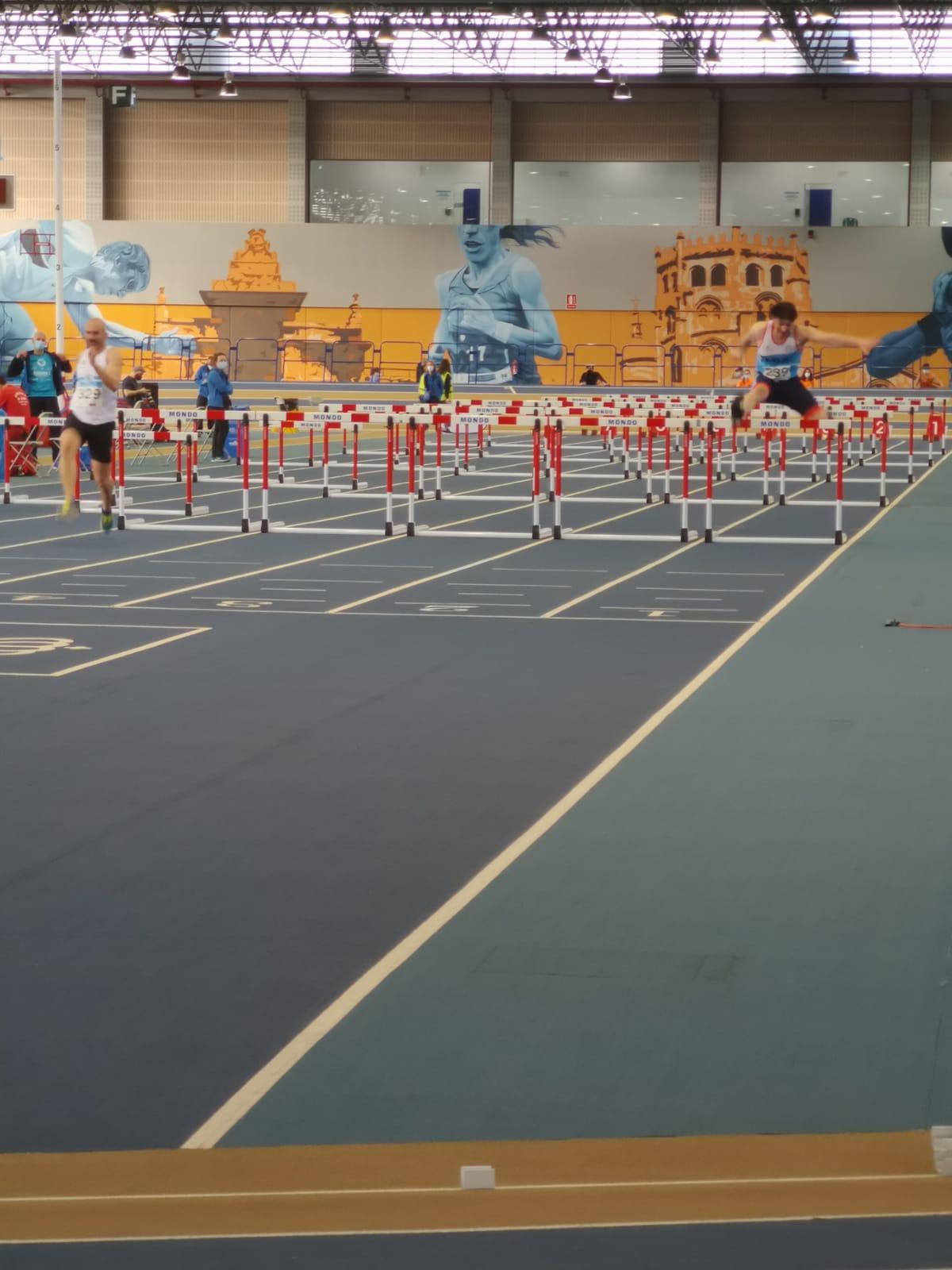 Atletismo, campeonato de Galicia SUB18