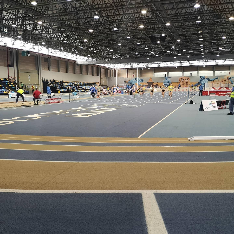 Campeonato de Atletismo en Pista Cubierta