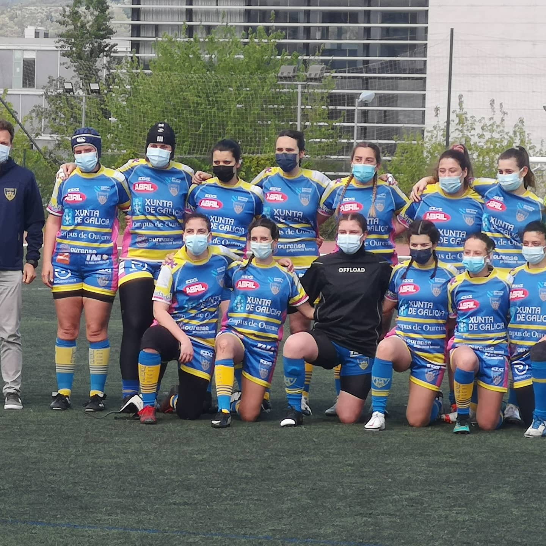 Rugby Femenino en Campus de Ourense