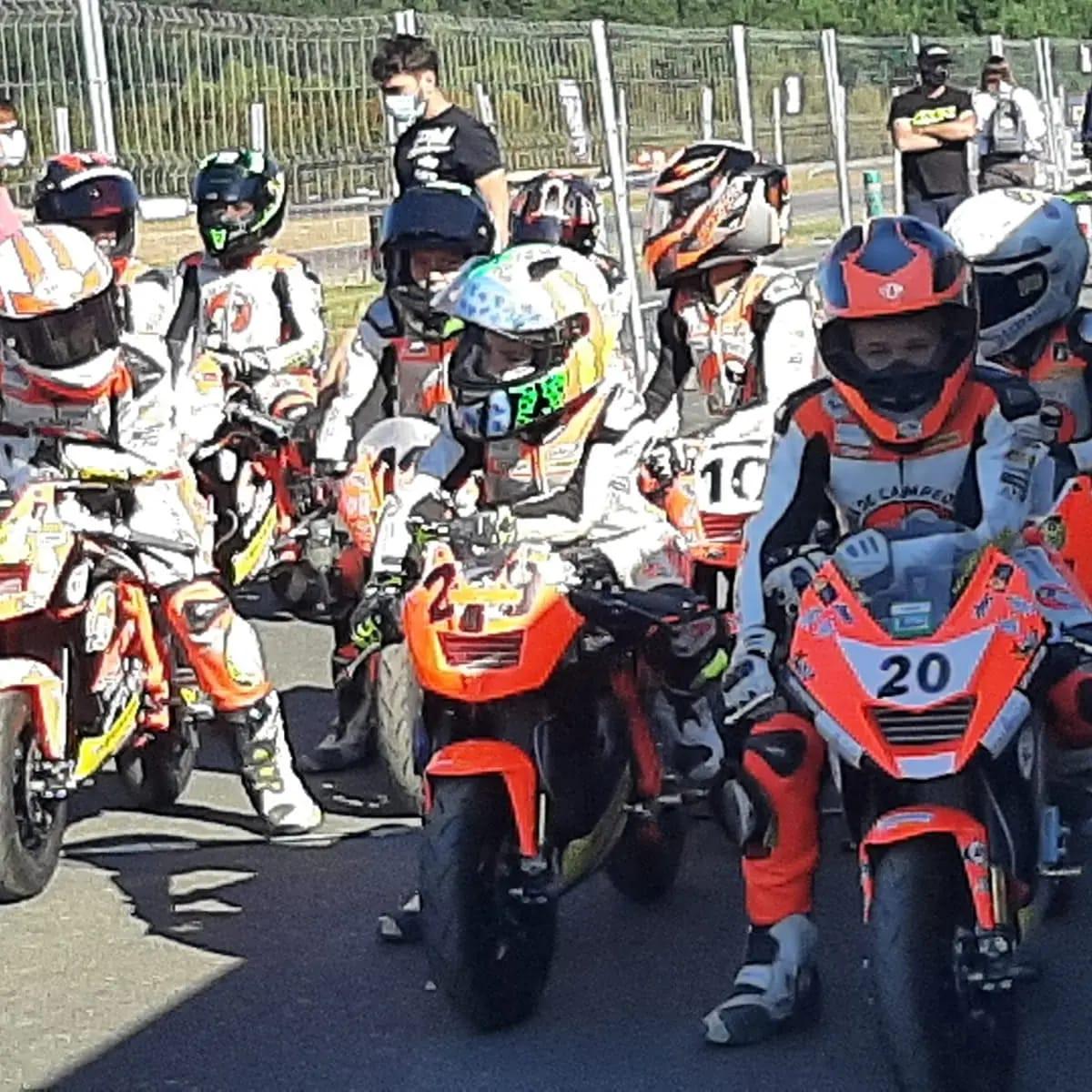 Campeonato de España de mini velocidad en Forcarei