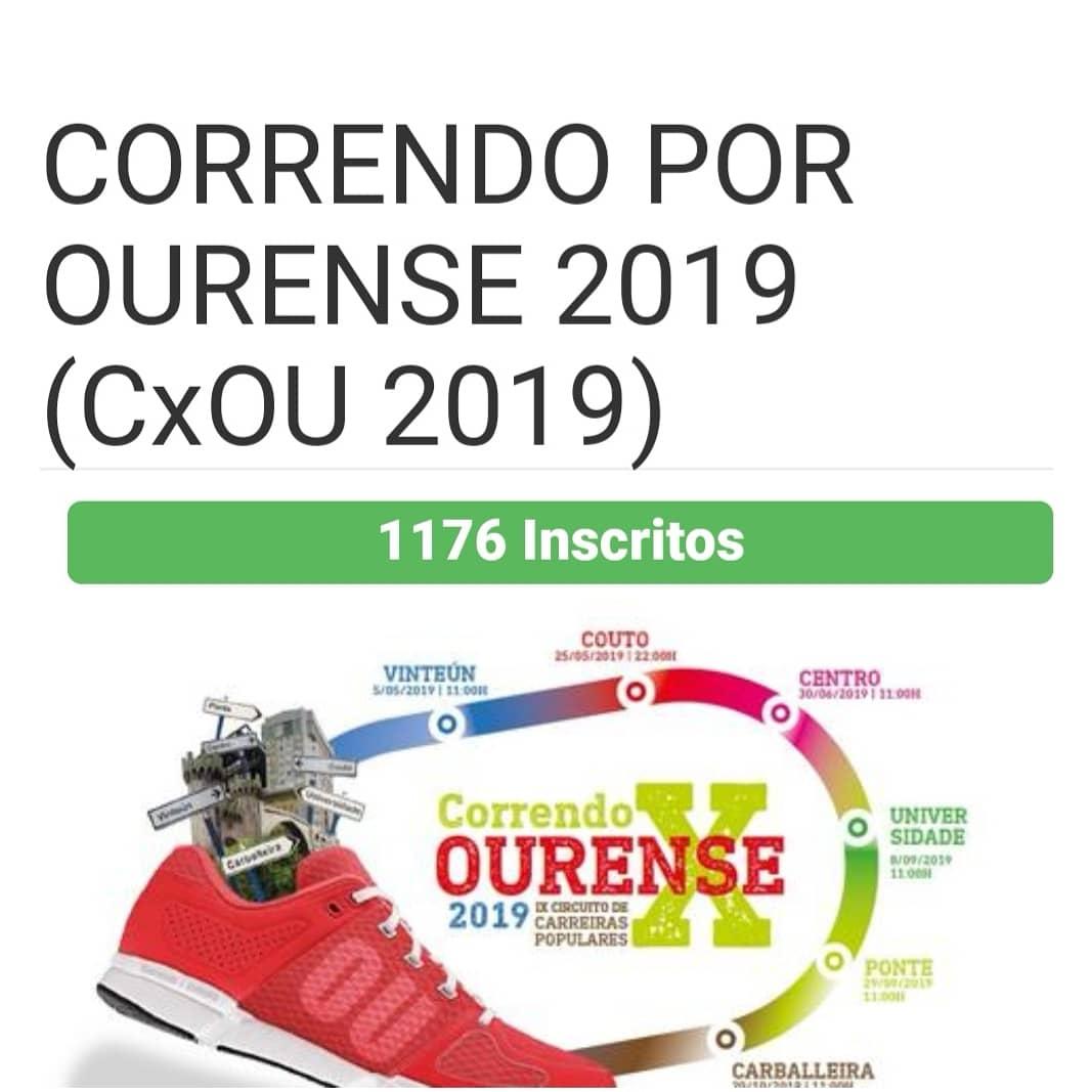 Correndo por Ourense 2019