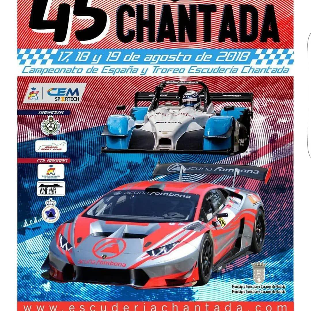 Campeonato de España y Trofeo Escuderia Chantada