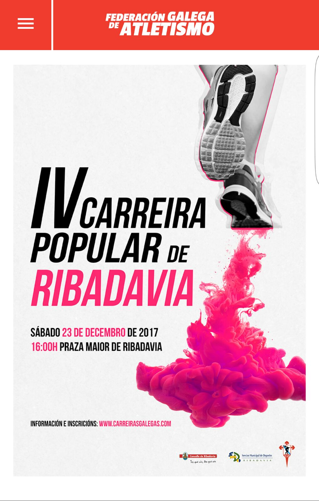 Carrera Popular Ribadavia