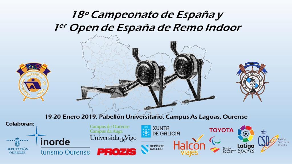 18º Campeonato de España y 1º Campeonato de España de Remo Indoor