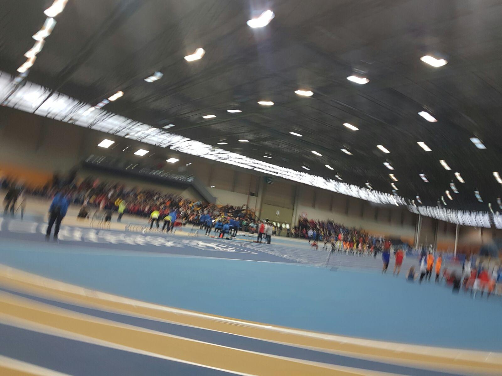 Inauguración Pista Cubierta Atletismo